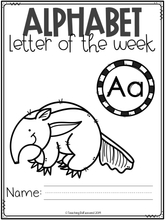 Load image into Gallery viewer, Alphabet Letter of the Week A