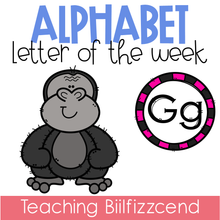 Load image into Gallery viewer, Alphabet Letter of the Week G