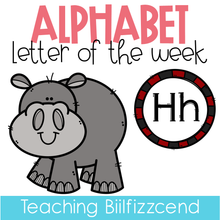 Load image into Gallery viewer, Alphabet Letter of the Week H