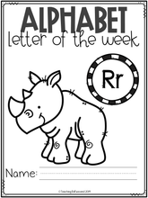 Load image into Gallery viewer, Alphabet Letter of the Week R