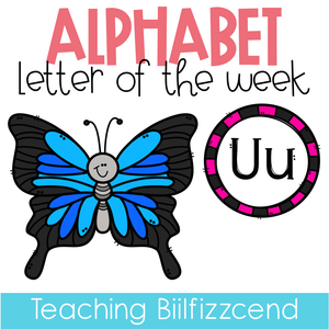 Alphabet Letter of the Week U