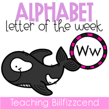 Load image into Gallery viewer, Alphabet Letter of the Week W