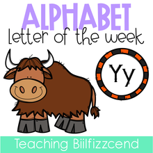 Load image into Gallery viewer, Alphabet Letter of the Week Y