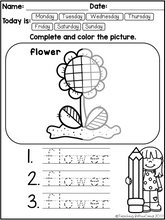 Load image into Gallery viewer, April Fine Motor Skills and Handwriting Practice