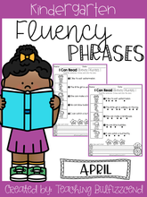 Load image into Gallery viewer, April Reading Fluency Phrases