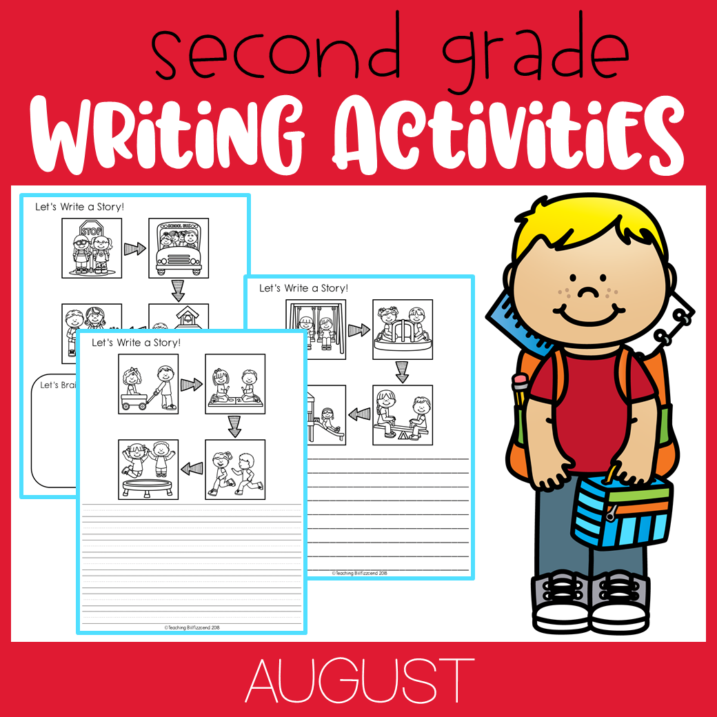 August Writing Activities For Second Grade