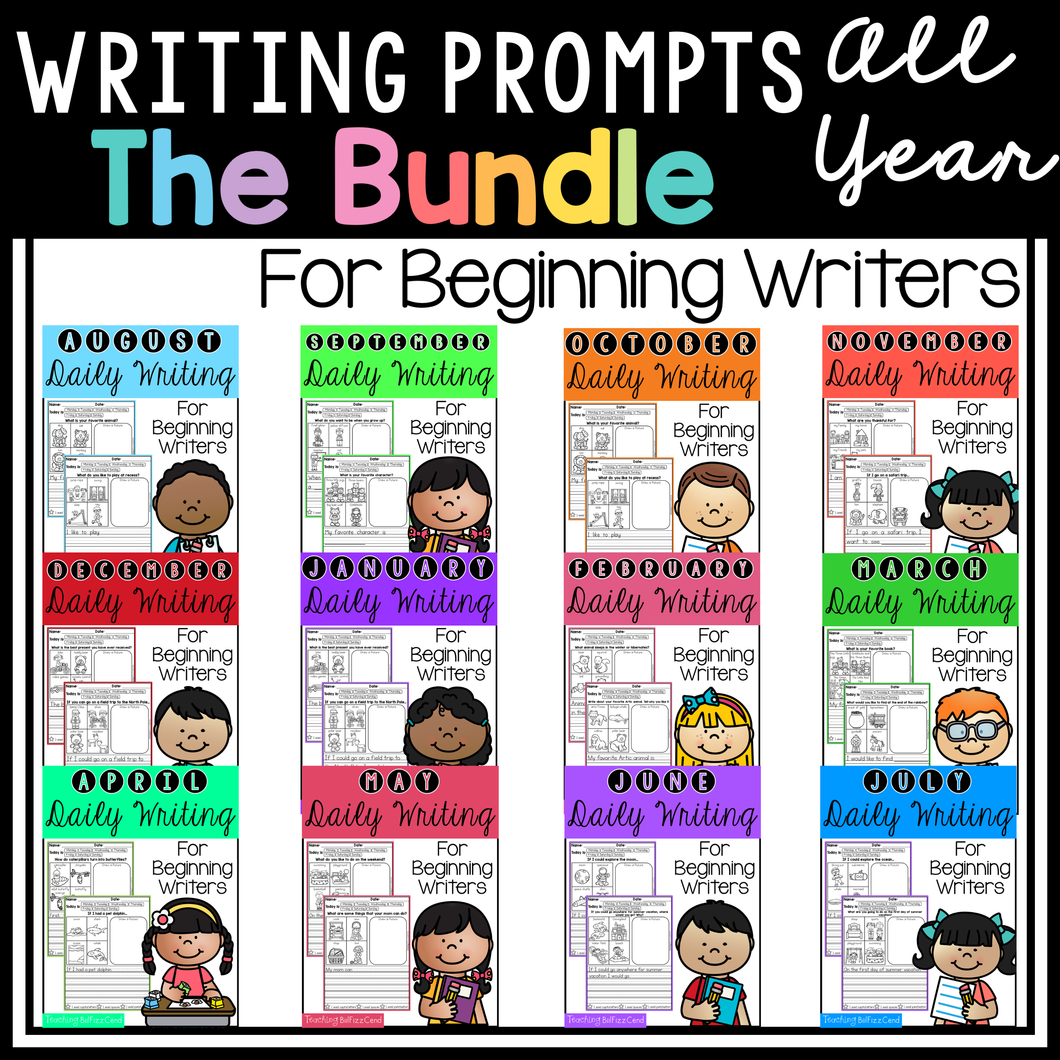 Daily Writing Prompts The Bundle