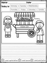 Load image into Gallery viewer, February Kindergarten Writing Activities