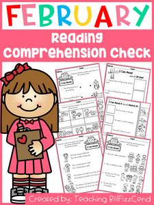February Reading Comprehension Check