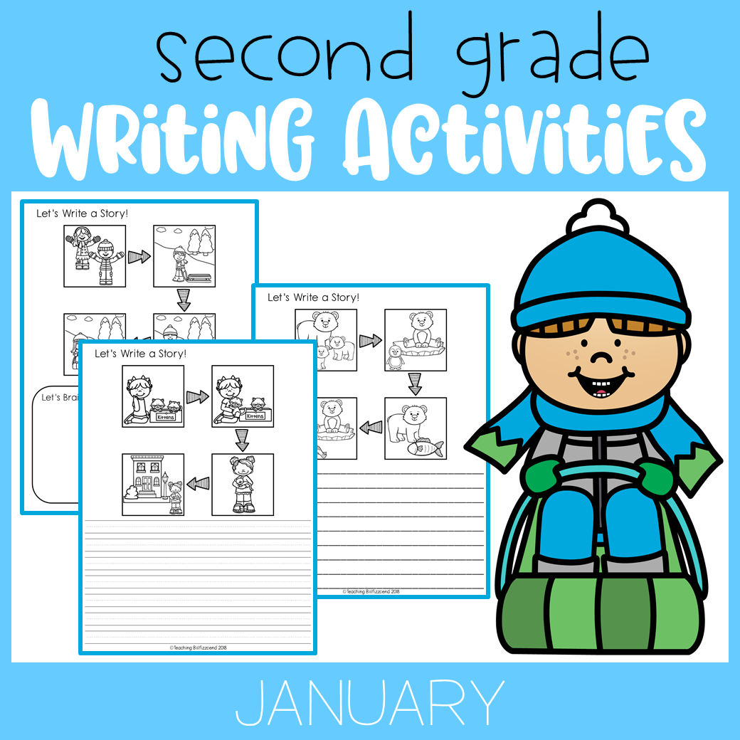 January Writing Activities For Second Grade