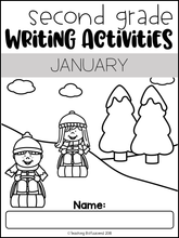Load image into Gallery viewer, January Writing Activities For Second Grade
