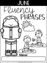 Load image into Gallery viewer, June Reading Fluency Phrases