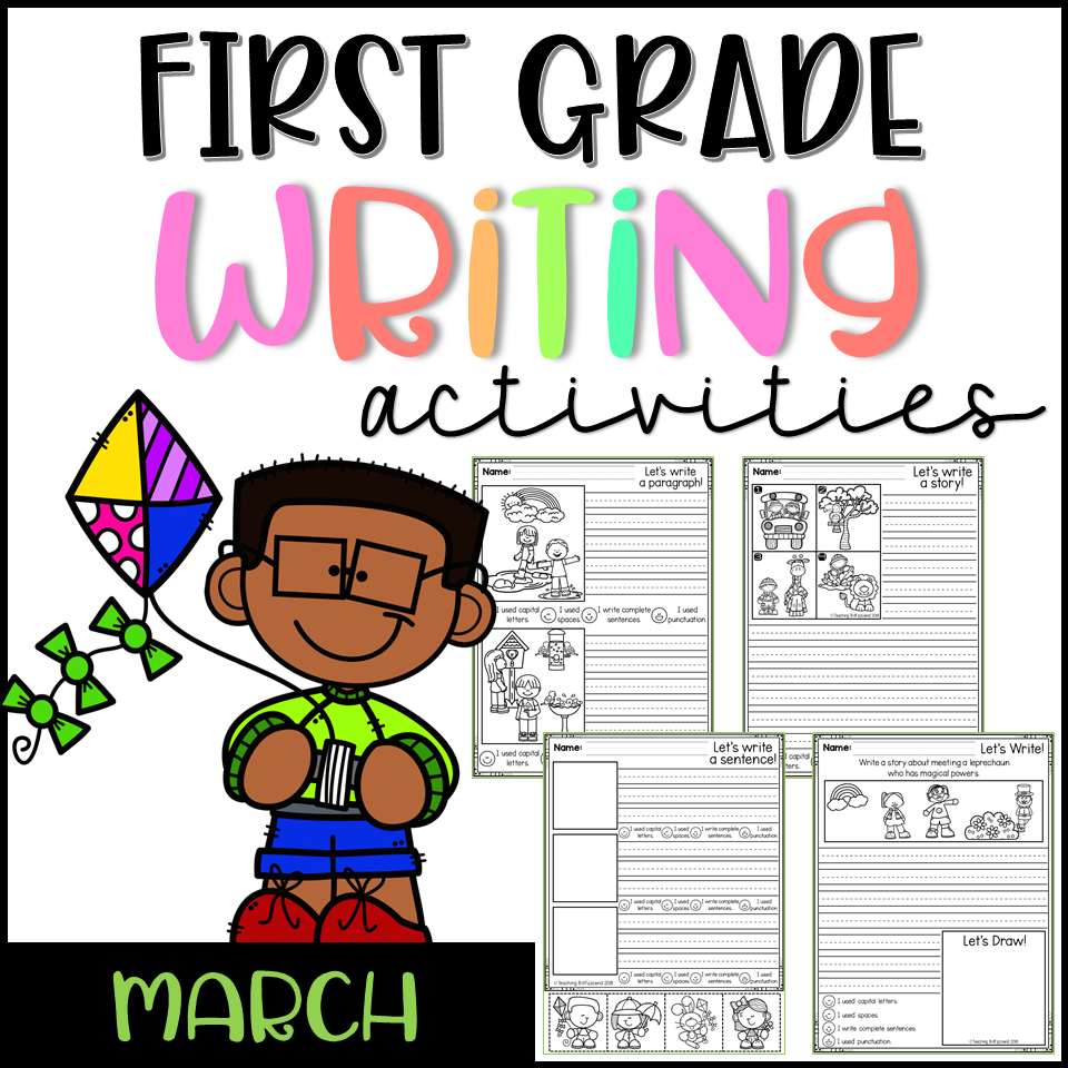 March First Grade Writing Activities
