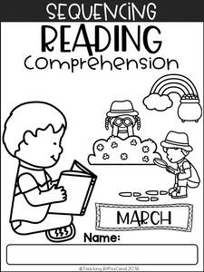 March Sequencing Reading Comprehension