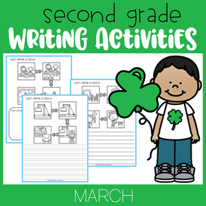 March Writing Activities For Second Grade