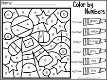 Load image into Gallery viewer, May Kindergarten Color by Code