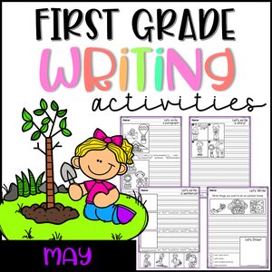 May First Grade Writing Activities