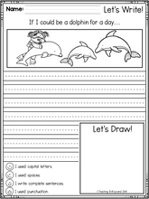 Load image into Gallery viewer, May First Grade Writing Activities