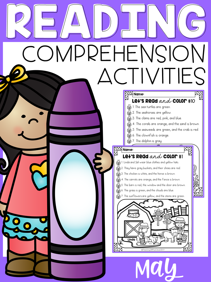 May Reading Comprehension Activities