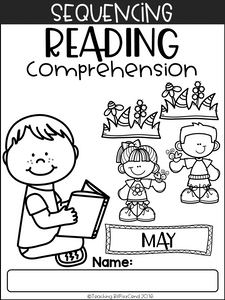 May Sequencing Reading Comprehension