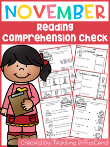 November Reading Comprehension Check