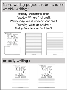 November Writing Activities For Second Grade