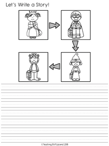 October Writing Activities For Second Grade