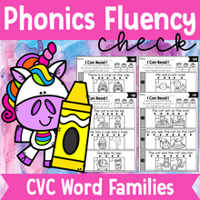 Load image into Gallery viewer, Phonics Fluency Check (CVC)
