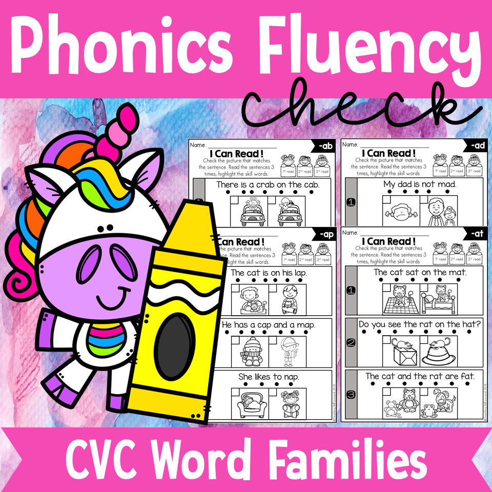 Phonics Fluency Check (CVC)