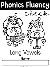 Load image into Gallery viewer, Phonics Fluency Check (Long Vowels)