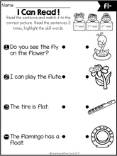 Load image into Gallery viewer, Phonics Fluency Read and Match The Bundle