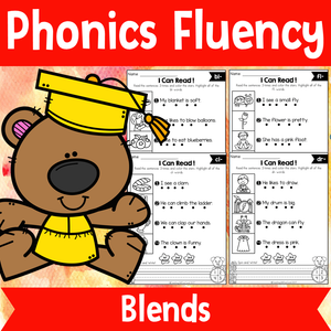 Phonics Fluency Read and Write (Blends)