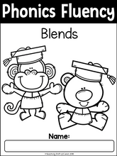 Load image into Gallery viewer, Phonics Fluency Read and Write (Blends)
