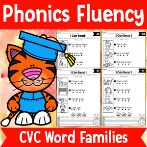 Phonics Fluency Read and Write (CVC)