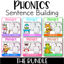 Load image into Gallery viewer, Phonics Sentence Building The Bundle