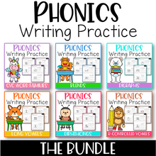 Load image into Gallery viewer, Phonics Writing Practice The Bundle
