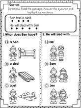 Load image into Gallery viewer, Reading Comprehension For Early Readers Set 4