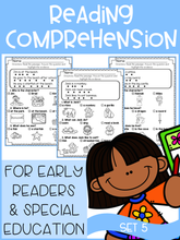 Load image into Gallery viewer, Reading Comprehension For Early Readers Set 5