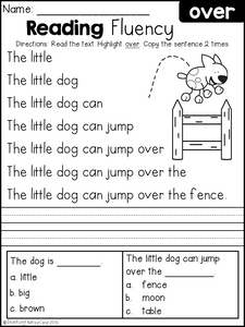 Reading Fluency and Comprehension The Bundle