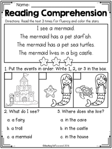 Sequencing Reading Comprehension (The Bundle)