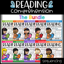 Load image into Gallery viewer, Sequencing Reading Comprehension (The Bundle)