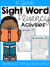 Load image into Gallery viewer, Sight Word Fluency Activities 1st Grade