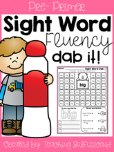 Load image into Gallery viewer, Sight Word Fluency Dab Set 1