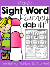 Load image into Gallery viewer, Sight Word Fluency Dab Set 2
