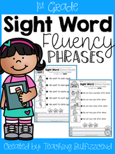 Load image into Gallery viewer, Sight Word Fluency Phrases (1st Grade)
