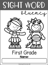 Load image into Gallery viewer, Sight Word Fluency Read and Color First Grade