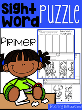 Load image into Gallery viewer, Sight Word Puzzle (Primer)