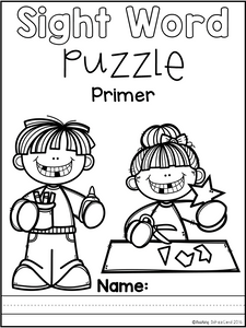 Sight Word Puzzle (Primer)