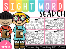 Load image into Gallery viewer, Sight Word Search (1st Grade)