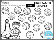 Load image into Gallery viewer, Free Sight Word Search